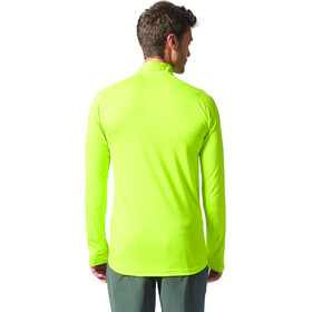 adidas TERREX Tracerocker 1/2 Zip T-Shirts Men semi solar yellow